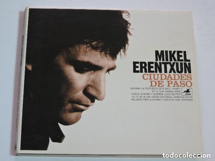 MIKEL ERENTXUN CIUDADES DE PASO CD (Música - CD's Pop)