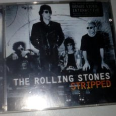 CDs de Música: THE ROLLING STONES - STRIPPED. Lote 142330210