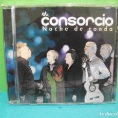 CDs de Música: EL CONSORCIO. NOCHE DE RONDA. CD ALBUM SONY . ESPAÑA 2012. MOCEDADES. COMO NUEVO¡¡ PEPETO. Lote 142356254