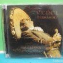CDs de Música: VICENTE FERNANDEZ AZTECA DOBLE CD + DVD ALBUM COMO NUEVO¡¡. Lote 142358914