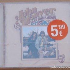 CDs de Música: JOHN DENVER -BACK HOME AGAIN (CD) 2005 - 14 TEMAS - PRECINTADO. Lote 142362402