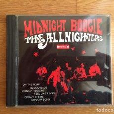 CDs de Música: THE ALLNIGHTERS: MIDNIGHT BOOGIE. Lote 142391305
