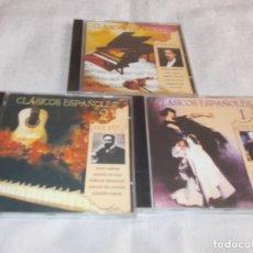 CDs de Música: CLÁSICOS ESPAÑOLES VOL. 1-2-3. Lote 142398870