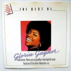 CDs de Música: THE BEST OF GLORIA GAYNOR - CD 1988. Lote 142429518