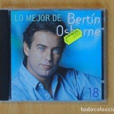 CDs de Música: BERTIN OSBORNE - LO MEJOR DE BERTIN OSBORNE - CD. Lote 142433560