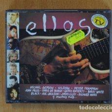 CDs de Música: ELLOS - VARIOS - 2 CD. Lote 142436934