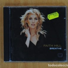 CDs de Música: FAITH HILL - BREATHE - CD. Lote 142438921