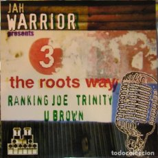 CDs de Música: JAH WARRIOR PRESENTS RANKING JOE / TRINITY / U BROWN. Lote 142440098
