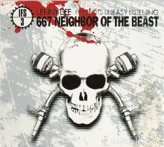 LENNY DEE - IFS3: 667 NEIGHBOR OF THE BEAST - 2XCD - DIGIPAK (Música - CD's Techno)
