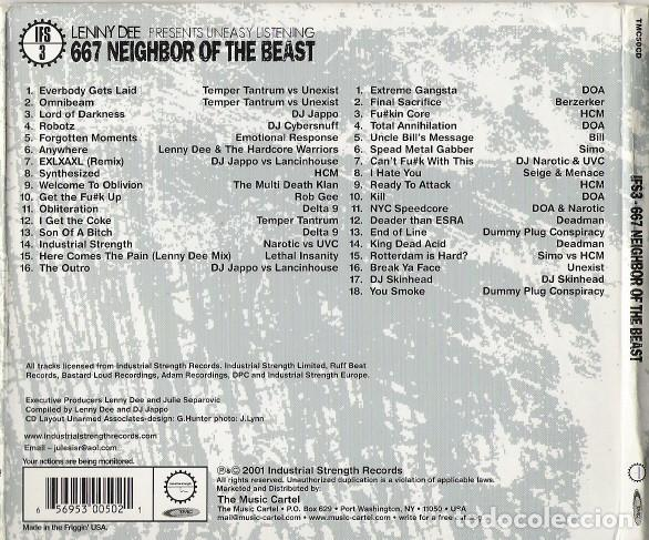 CDs de Música: LENNY DEE - IFS3: 667 NEIGHBOR OF THE BEAST - 2XCD - DIGIPAK - Foto 2 - 142445506