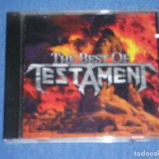 CDs de Música: THE BEST OF TESTAMENT. Lote 142453194