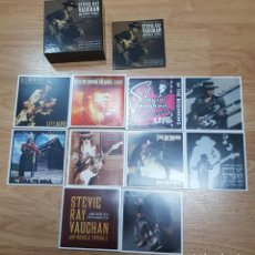 CDs de Música: STEVIE RAY VAUGHAN - THE COMPLETE EPIC RECORDINGS COLLECTION. Lote 142489326