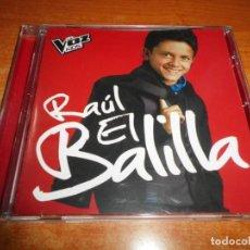 CDs de Musique: RAUL EL BALILLA LA VOZ KIDS CD ALBUM 2014 DUOS DAVID BISBAL PAULA ROJO MARIA PARRADO TRIANA DE ALBA . Lote 142534138