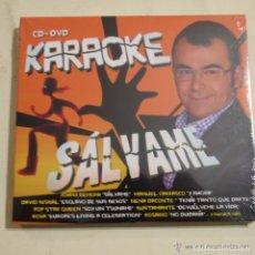 CDs de Música: KARAOKE SÁLVAME CD+DVD 2010 PRECINTADO. Lote 142550890