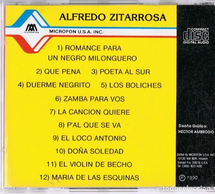 CDs de Música: ALFREDO ZITARROZA FOLKLORE LATINOAMERICANO - Foto 2 - 142595638