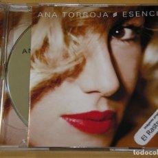 CDs de Música: ANA TORROJA, ESENCIAL, CD + DVD, DOBLE, MECANO. Lote 142601170