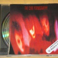 CDs de Música: THE CURE, PORNOGRAPHY, CD FICTION RECORDS, GOTH ROCK. Lote 142607374
