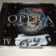 CDs de Música: EL MEJOR ALBUM DE ÓPERA DEL MUNDO / EMI CLASSICS / 2 CD. Lote 142641534
