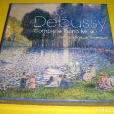 CDs de Música: CLAUDE DEBUSSY / COMPLETE PIANO MUSIC / GORDON FERGUS-THOMPSON / BRILLIANT CLASSICS / 5 CD. Lote 142646478