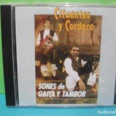 CDs de Música: CD ALBUM 2008 CIFUENTES Y CORDERO - SONES DE GAITA Y TAMBOR COMO NUEVO¡¡ ASTURIAS. Lote 142649050