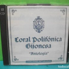 CDs de Música: CORAL POLIFONICA GIJONESA ANTOLOGIA DOBLE CD ALBUM 1996 BMG ASTURIAS COMO NUEVO¡¡. Lote 142650778