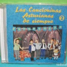 CDs de Música: LAS CANCIONES ASTURIANAS DE SIEMPRE VOL 2 CD ALBUM ASTURIAS COMO NUEVO¡¡. Lote 142651278