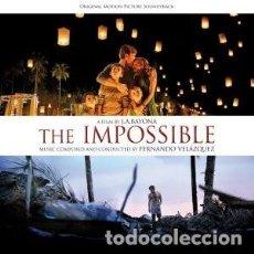 CDs de Musique: LO IMPOSIBLE MÚSICA COMPUESTA Y DIRIGIDA POR FERNANDO VELÁZQUEZ. Lote 183084505
