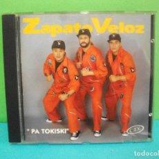CDs de Música: ZAPATO VELOZ PA TOKISKI CD ALBUM AÑO 1993 ASTURIAS COMO NUEVO¡¡. Lote 142660866