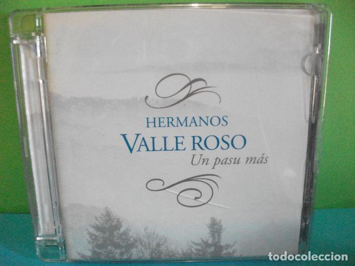HERMANOS VALLE ROSO UN PASO MAS CD ALBUM ASTURIAS COMO NUEVO¡¡ PEPETO (Música - CD's Country y Folk)