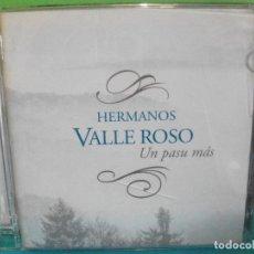 CDs de Música: HERMANOS VALLE ROSO UN PASO MAS CD ALBUM ASTURIAS COMO NUEVO¡¡ PEPETO. Lote 142670934