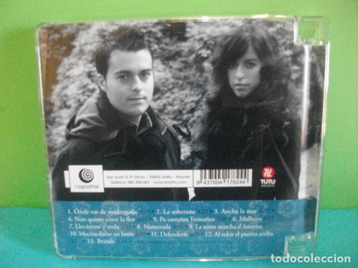 CDs de Música: HERMANOS VALLE ROSO UN PASO MAS CD ALBUM ASTURIAS COMO NUEVO¡¡ pepeto - Foto 2 - 142670934