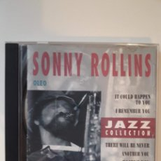 CDs de Música: CD SONNY ROLLINS - JAZZ COLLECTION . Lote 142679366