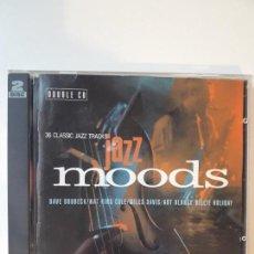 CDs de Música: 2 CD JAZZ MOODS - 30 CLASSIC JAZZ TRACKS. Lote 142680210