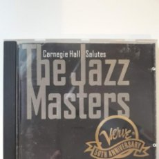 CDs de Música: CD CARNEGIE HALL SALUTES THE JAZZ MASTERS - VERVE 50TH ANNIVERSARY. Lote 142680870
