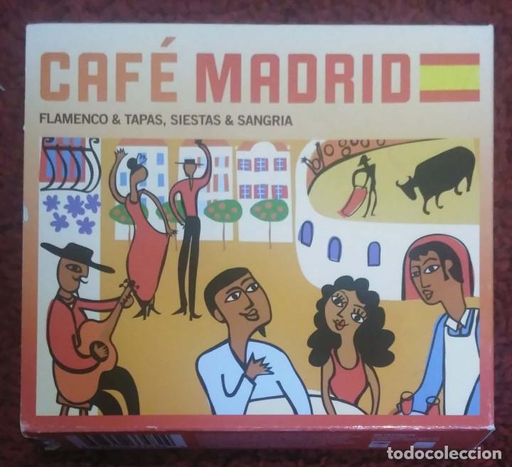 CAFE MADRID (PACO DE LUCIA, KETAMA, MORENTE, TOMATITO, ANA REVERTE, MANZANITA..) 3 CD'S 2009 (Música - CD's Flamenco, Canción española y Cuplé)