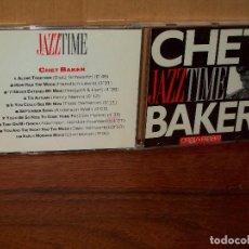 CDs de Música: CHET BAKER - JAZZ TIME - CD . Lote 142705962
