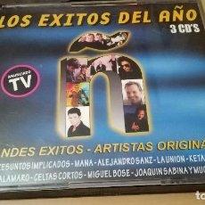 CDs de Música: LOS EXITOS DEL AÑO 1999 Ñ 3 CDS BOSE ALEJANDRO SANZ ROSENDO SABINA MARTA SÁNCHEZ PIRATAS SECRETOS.. Lote 142708650