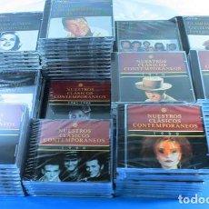 CDs de Música: IMPRESIONANTE LOTE DE 90 CD'S NUESTROS CLASICOS CONTEMPORANEOS (ESPAÑOLES E INTRENCIONALES) PLANETA. Lote 142711618