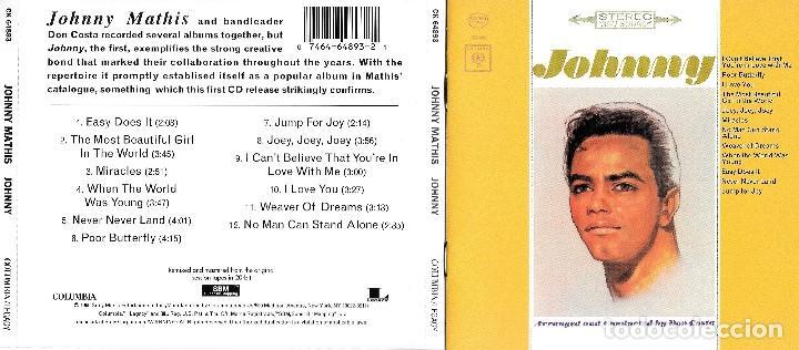 JOHNNY MATHIS - JOHNNY (Música - CD's Melódica )