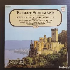 CDs de Música: ROBERT SCHUMANN - KONWITSCHNY - LP VINILO - GRANDES COMPOSITORES Nº 16 - 1981. Lote 142788938
