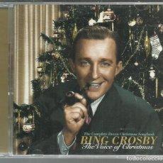 CDs de Música: BING CROSBY - THE VOICE OF CHRISTMAS - CD DOBLE MCA 1998. Lote 142792242