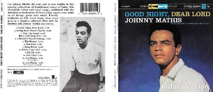 JOHNNY MATHIS - GOOD NIGHT, DEAR LORD (Música - CD's Melódica )