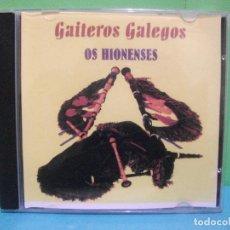 CDs de Música: GAITEROS GALLEGOS OS HIONENSES CD ALBUM COMO NUEVO¡¡ PEPETO. Lote 142824334