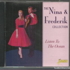 CDs de Música: NINA & FREDERIK - THE COLLECTION: LISTEN TO THE OCEAN - CD JASMINE 2001. Lote 142858946