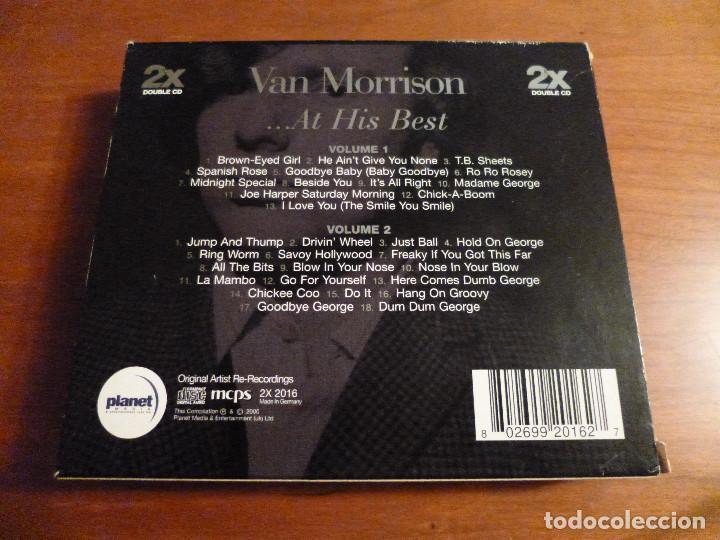 CDs de Música: VAN MORRISON - ... AT HIS BEST - 2 CDS - Foto 2 - 142901058