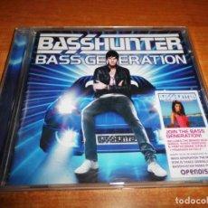 CDs de Música: BASSHUNTER BASS GENERATION CD ALBUM DEL AÑO 2009 EU CONTIENE 14 TEMAS + EXTRAS DISCO DANCE RARO. Lote 142902942