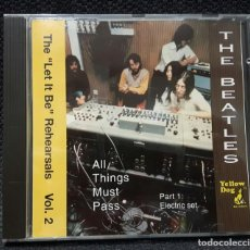 CDs de Música: BEATLES - THE LET IT BE REHEARSALS VOL.2 - CD - YELLOW DOG - RARO - PAUL MCCARTNEY - JOHN LENNON. Lote 142915946