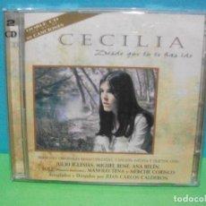 CDs de Música: CECILIA . DESDE QUE TU TE HAS IDO AÑO 1996 – DOBLE CD ALBUM COMO NUEVO¡¡. Lote 142924926