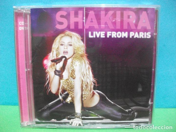 SHAKIRA LIVE FROM PARIS CD ALBUM +DVD COMO NUEVO¡¡ PEPETO (Música - CD's Latina)