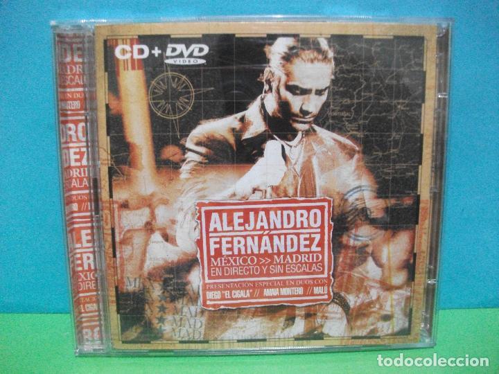 ALEJANDRO FERNÁNDEZ MÉXICO - MADRID ( DVD + CD ALBUM ) COMO NUEVO¡¡ (Música - CD's Latina)
